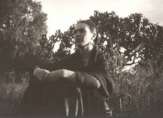 Frida Kahlo by the Cactus, Mexico, photo by Lucienne Bloch, 1932