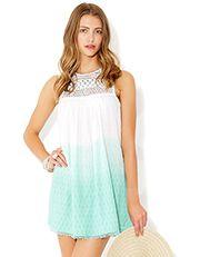 Isadora Dip Dye Dress