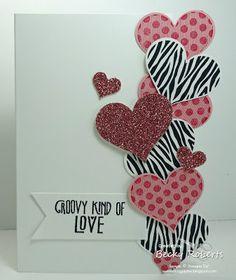 Groovy Love Valentine Card