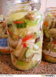 Čalamáda moc dobrá Russian Recipes, Marmalade, Fresh Rolls, Pasta Salad, Preserves, Baking Recipes, Cucumber, Salads, Food And Drink