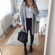 """14.3k Likes, 61 Comments - Thanya W. (@thanyaw) on Instagram: """"Direct links to the COAT & JEANS here  http://liketk.it/2qrjr @liketoknow.it #liketkit (link in…"""""""