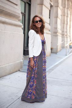 I love this whole look.  And since moving to LA, I realize I have far too many (re: 0) maxi dresses.