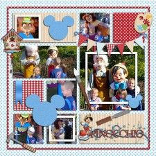 Template Challenges - MouseScrappers - Disney Scrapbooking Gallery