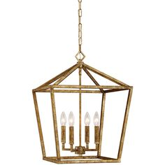 Millennium Lighting 16-in W Vintage Gold Pendant Light ($160) ❤ liked on Polyvore featuring home, lighting, ceiling lights, gold pendant lamp, gold pendant lights, vintage lighting, vintage hanging lamps and gold ceiling lights