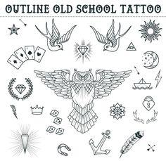 ideas männer männer ideen old school quotes sketchestattoo designs ideas männer männer ideen old school quotes sketches Old school tattoo element vector . Trendy Tattoos, Tattoos For Guys, Fake Tattoos, Tattoo Sleeve Designs, Sleeve Tattoos, Boyfriend Name Tattoos, Old School Quotes, Tattoo Care Instructions, Geometric Tatto