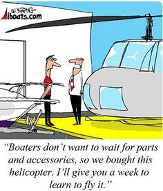 Some boating humor for your weekend. #iboatsdotcom #boatinghumor #boating