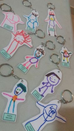 Muttertag Vatertag - Craft Tutorial and Ideas Kids Crafts, Mothers Day Crafts For Kids, Fathers Day Crafts, Arts And Crafts, Christmas Art For Kids, Christmas Presents, Fathers Day Presents, Shrinky Dinks, Mother And Father