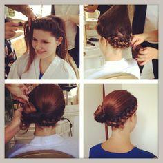 Elnett coiffure