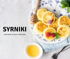 If you're looking for a twist on your basic pancake, try these Eastern Slavic syrniki! Farmer's cheese turns these pancakes into an extra fluffy and creamy treat.Yogurts, fruit, and fruit syrups are popular toppings, but the options are endless!Have you tried syrniki before? #travelingram #instatraveling #instatrip #instapassport #mytravelgram #igtravel #tourism #visiting #tourist #instago #travelling #instalive #instalife #ilove #holidays #traveler #travelblog Travel News, New Travel, Farmers Cheese, Insta Live, Pancakes, Travelling, Tourism, Popular, Holidays