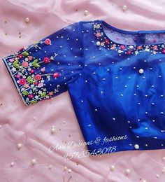 To make it easier for you, we have the top trending beautiful silk saree blouse designs so that you can choose the best for your saree look. Blouse Designs Catalogue, Wedding Saree Blouse Designs, Pattu Saree Blouse Designs, Fancy Blouse Designs, Sleeves Designs For Dresses, Stylish Blouse Design, Designer Blouse Patterns, Grey Tie, Work Blouse