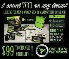 Who wants an extra 600$ a month Contact me today! Let me be your wrap girl! Save you 40% gain perk points to free product, and have a healthier lifestyle! 706-371-9745 breannawhite7754@gmail.com breparker.myitworks.com