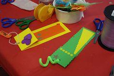 Punts de llibre de cartolina Crafts For Kids, Diy Crafts, Bookmarks, My Love, Scrapbooking, Spring, Card Stock, Short Stories, Sharpies