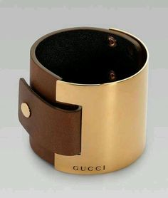 OMG!  Wide bangle Gucci Bracelet.