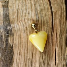 Natural amber pendant 2.5gr. Gold plated Baltic от BalticAmberCity