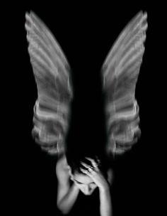Serie angeli caduti. angelo 57.