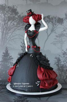 tailors dream - Cake by Wendy Schlagwein