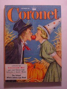 Vintage Halloween Magazine ~ Coronet ©October, 1956