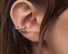 EAR CUFF-sterling silver ear cuff-Ear cuff gold ear