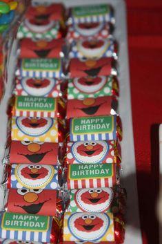 Sesame Street, Elmo Birthday Party Ideas | Photo 9 of 29 | Catch My Party