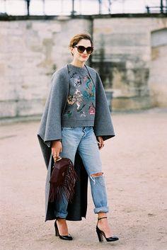 Paris Fashion Week AW 2014....Sofia - Vanessa Jackman