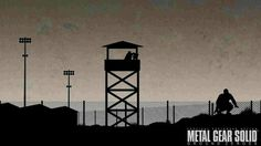 Metal Gear Solid V: Ground Zeroes inspired artwork