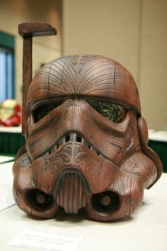 Wow. Gorgeous woodworking mixed with badassness.
