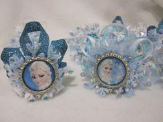 Frozen Elsa Mini Crown on Etsy, $4.00