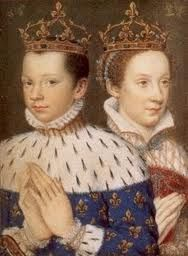 Prince Francis and Mary Queen of Scots.