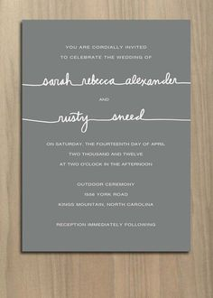 5 Big Wedding Invitation Trends Are Here to Stay | Team Wedding Blog