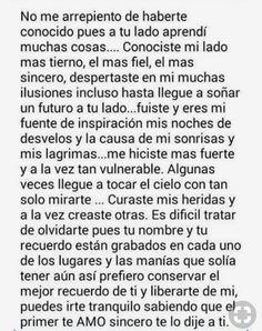 Y es muy triste saber que esto es todo verdad ,y vos lo echaste todo a perder Love Phrases, Love Words, Sad Love Quotes, Cute Quotes, Frases Instagram, Ex Amor, Frases Love, Spanish Quotes, Love Messages