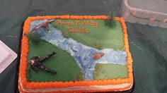 Outdoorsman Cake
