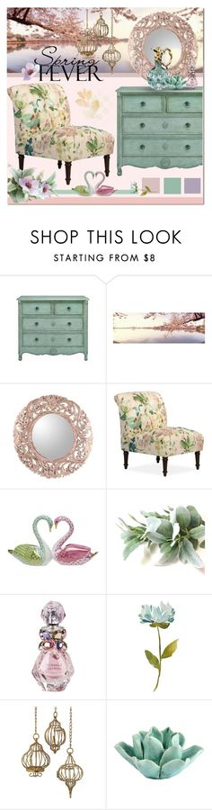 """""""Spring florals"""" by s-elvira ❤ liked on Polyvore featuring interior, interiors, interior design, home, home decor, interior decorating, NOVICA, Herend, Vera Wang and Dot & Bo"""