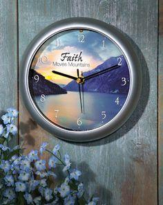 Cute inspirational clock