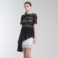 Libby Lace Top & Reiss Skirt || www.jolie-clothing.com  Enjoy FREE SHIPPING weekend over all products, with NO MINIMUM PURCHASE required. You still can collect some of our best selling pieces, while stock lasts. #Jolie #JolieClothing #JolieIndonesia #JolieJakarta #ootd #Fashion #onlineshop #clothingline