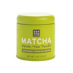 Premium Grade, Organic Matcha Powder, 1 oz tin