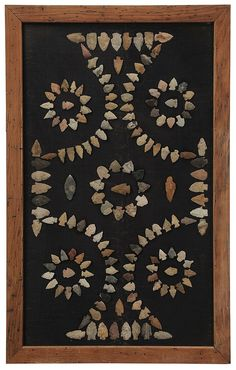 Framed Collection of Native American - by Brunk Auctions