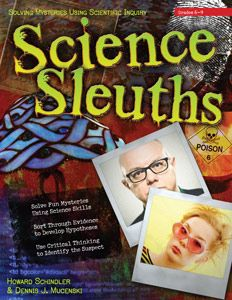 Science Sleuths mini unit. Written for grades 6-9, it includes three detailed cases for your children to solve based on clues and evidence.