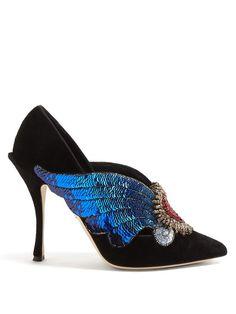 ac6cc483696 Franco Sarto Davey (Lapis Blue Diva Suede Metallic) Women s Shoes. Embody  chic sophistication in the fashion-forward Franco Sarto Davey pump.
