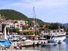 Kaş Harbour, Turkey #Kaş #Turkey #Antalya