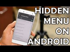 The Hidden Menu- 10 Hidden Android Features - YouTube