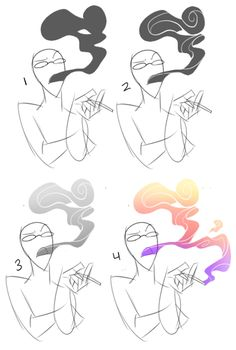windycube said: Gosh you're really cool your drawings are so amazing ;w; I really like the way you draw smoke and steam tho, could you do a quick tutorial or step by step, please? Answer: Thank you!...