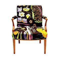 Josef Frank printed armchair