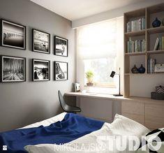 granatowa-sypialnia - zdjęcie od MIKOŁAJSKAstudio - Sypialnia - Styl Nowoczesny - MIKOŁAJSKAstudio