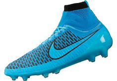 Nike Magista Obra FG Soccer Cleats - Blue and Black