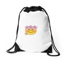 Emoji Drawstring Bags. EmojiRyggsäckar.   1f100b418c589