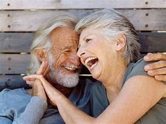 the beauty of growing old together.