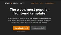10 Best HTML5 Frameworks To Speed up Web Development