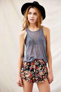 Stripe Knit Tank - Urban Outfitters
