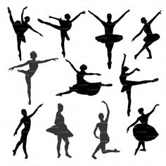 Ballet Silhouette, Silhouette Files, Png Vector, Types Of Machines, Drawing Expressions, Digital Wall, Stencil Art, Vinyl Cutting, Royal Crowns
