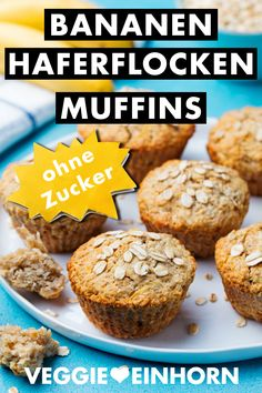 2 Healthful Breakfast Recipes For Fat Reduction: Delectable Sha Bang Eggs And Do-it-yourself Muesli - My Website Simple Muffin Recipe, Healthy Muffin Recipes, Healthy Muffins, Donut Recipes, Clean Eating Recipes, Muffins Sains, Baby Muffins, Cinnamon Bread, Vegan Baking